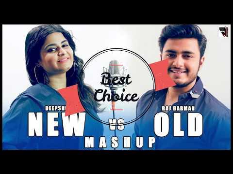 New Vs Old Bollywood Songs Mashup MP3 Audio   Raj Barman Ft. Deepshikha   By Bhadresh