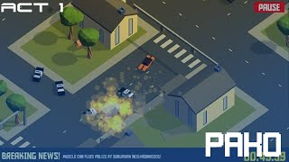 Pako: Car Chase Simulator | RUNNING OUT OF SPACE MID-RRECORDING