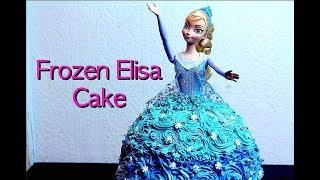 FROZEN ELSA CAKE | Urdu Recipe By COOK WITH FAIZA
