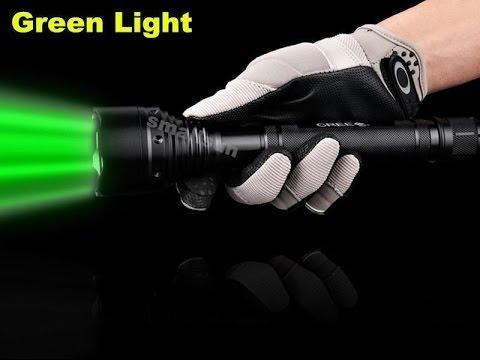 GREEN LIGHT SMALL SUN 2000 Lumen CREE XM L T6 LED TACTICAL FLASHLIGHT TORCH  LAMP