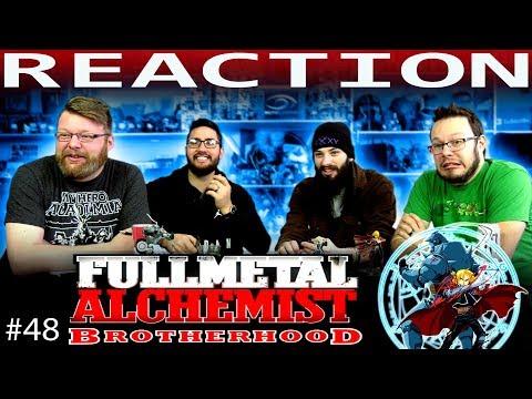 "Fullmetal Alchemist: Brotherhood Episode 48 REACTION!! ""The Oath in the Tunnel"""