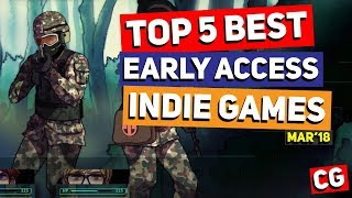 Top 5 Best Early Access Indie Games – March 2018 / Long Gone Days, Prismata, Train Valley 2 & More!