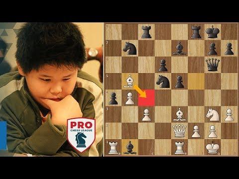 Major Upset in Pro Chess League - Awonder Liang Beats Fabiano Caruana