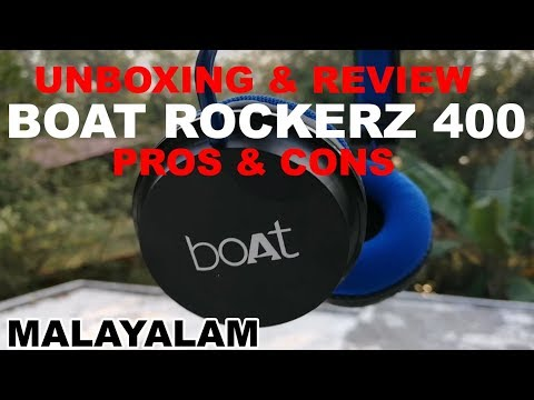 Boat Rockerz 400 Wireless Headset | Unboxing | Review | Pros & Cons | 2019
