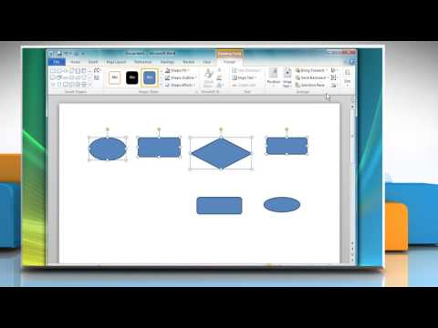 how-to-create-a-flow-chart-in-microsoft®-word-2010