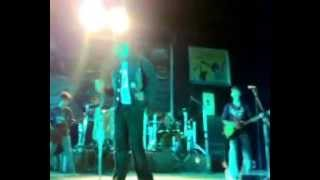 Bengali Rock Music in a Stage Performance by a Indian Band
