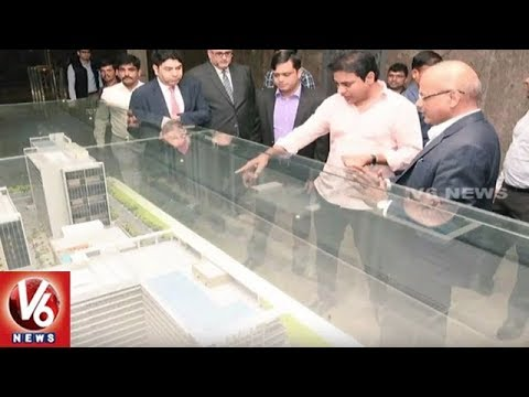 Hyderabad To Have World's Largest Pharma Cluster: Minister KTR | V6 News