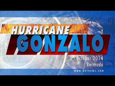 Hurricane Gonzalo, Bermuda, October 2014
