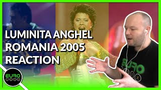 🇷🇴 ROMANIA EUROVISION 2005 REACTION: Luminita Anghel & Sistem - Let Me Try | ANDY REACTS!
