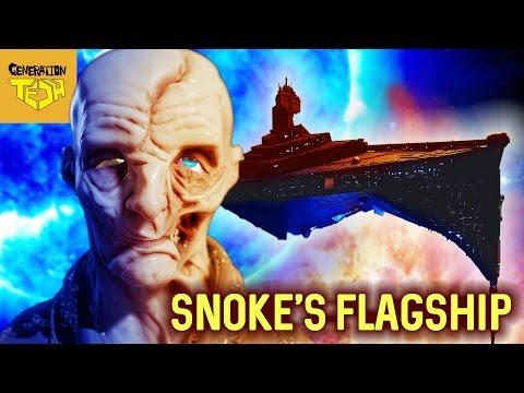 IS SNOKE HIDING ON PALPATINE'S SUPER STAR DESTROYER?