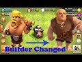 Clash of clans: GIANT Surprise Builder has left | GIANT is new builder