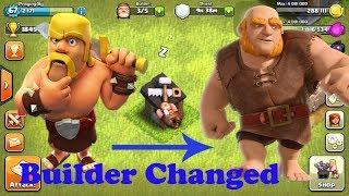 Clash of clans: GIANT Surprise Builder has left | GIANT is new builder