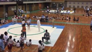 6年生になり始めてのわんぱく相撲大会に参加!やはり6年生になるとなか...