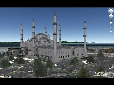 HISTORICAL PLACES OF TURKEY IN GOOGLE EARTH PART ONE ( 1/8 )