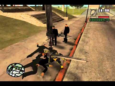 GTA San Andreas: Ninja Mod