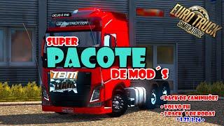 Euro Truck Simulator 2 - Pacote de Mods + Download!