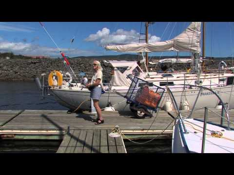 Down East Circle Part 2 - Sailing from Gaspe, Quebec to Les Îles de la Madeleine