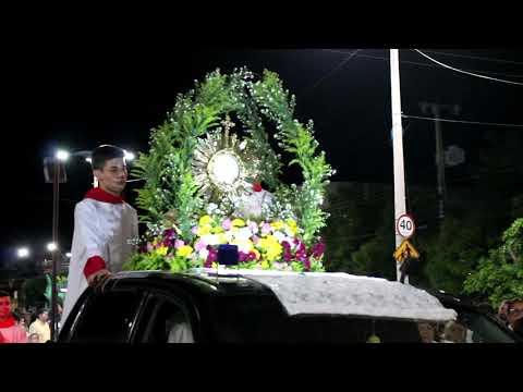 VT - Reportagem Tapetes De Corpus Christi - Paróquia De Reriutaba-CE
