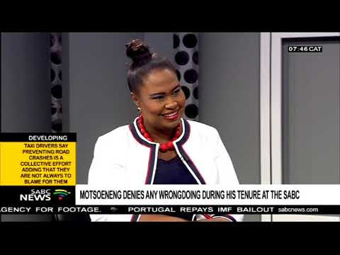 Motsoeneng denies any wrongdoing during his tenure at the SABC Part 1