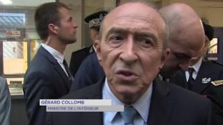 Trappes : premier déplacement pour Gérard Collomb à Trappes