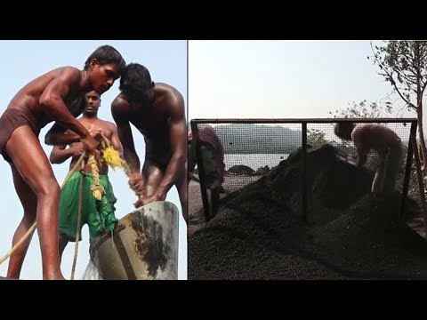 Drowning for Sand: miners risking all for India's building boom
