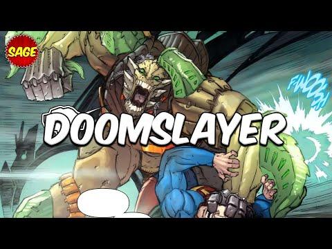 Who is DC Comics Doomslayer? Doomsday