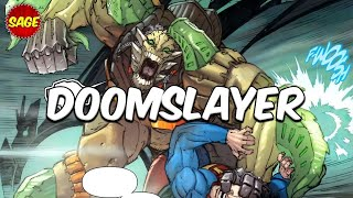 Who is DC Comics Doomslayer? Doomsday
