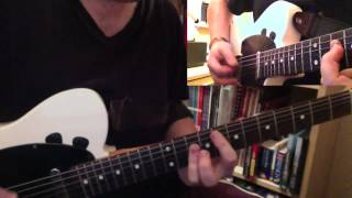 Status Quo-Roll Over Lay Down Live! (Guitar Cover)