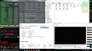AMD 8370E benchmarks with 2133 Mhz RAM and 4.8 Ghz overclock
