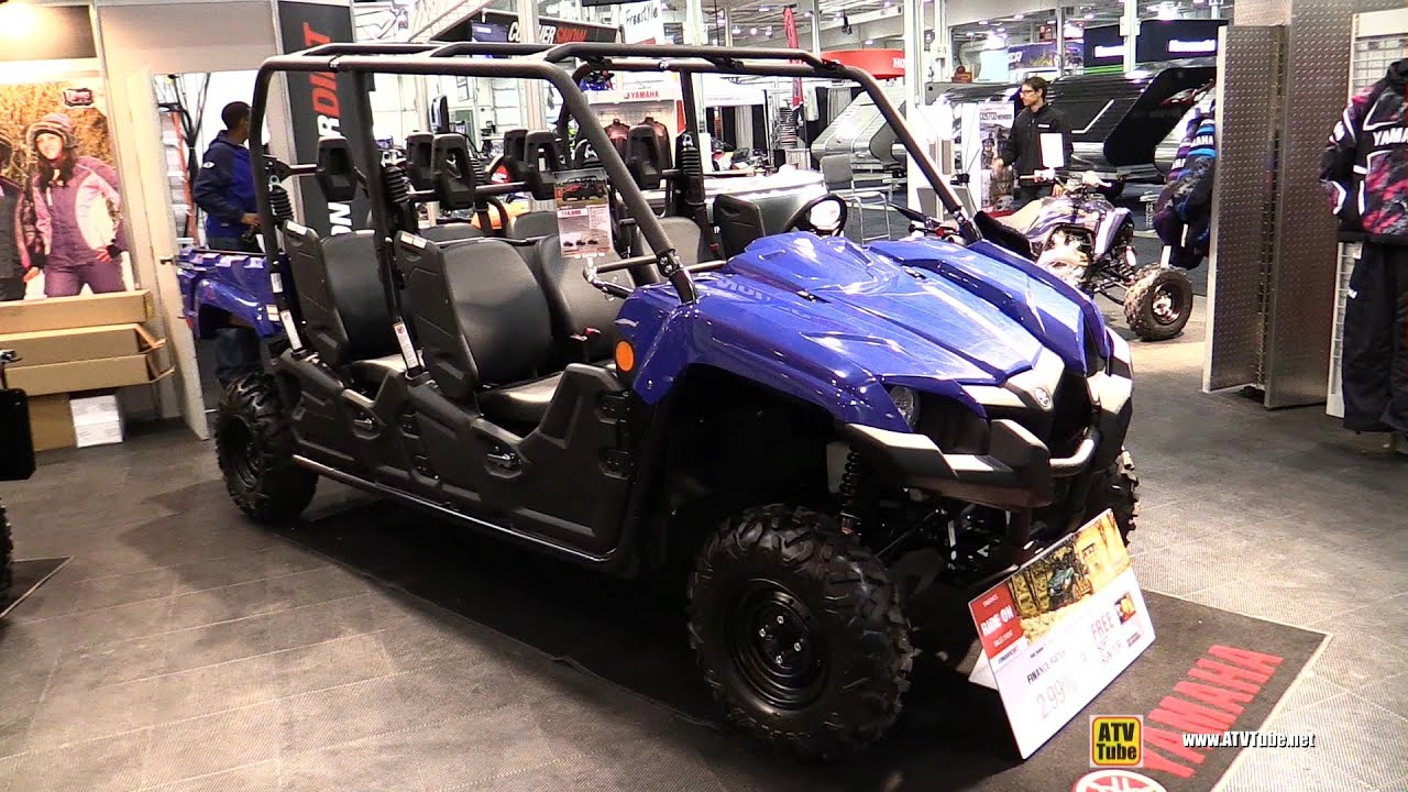 2015 Yamaha Viking VI Side by Side ATV - Exterior and Interior ...