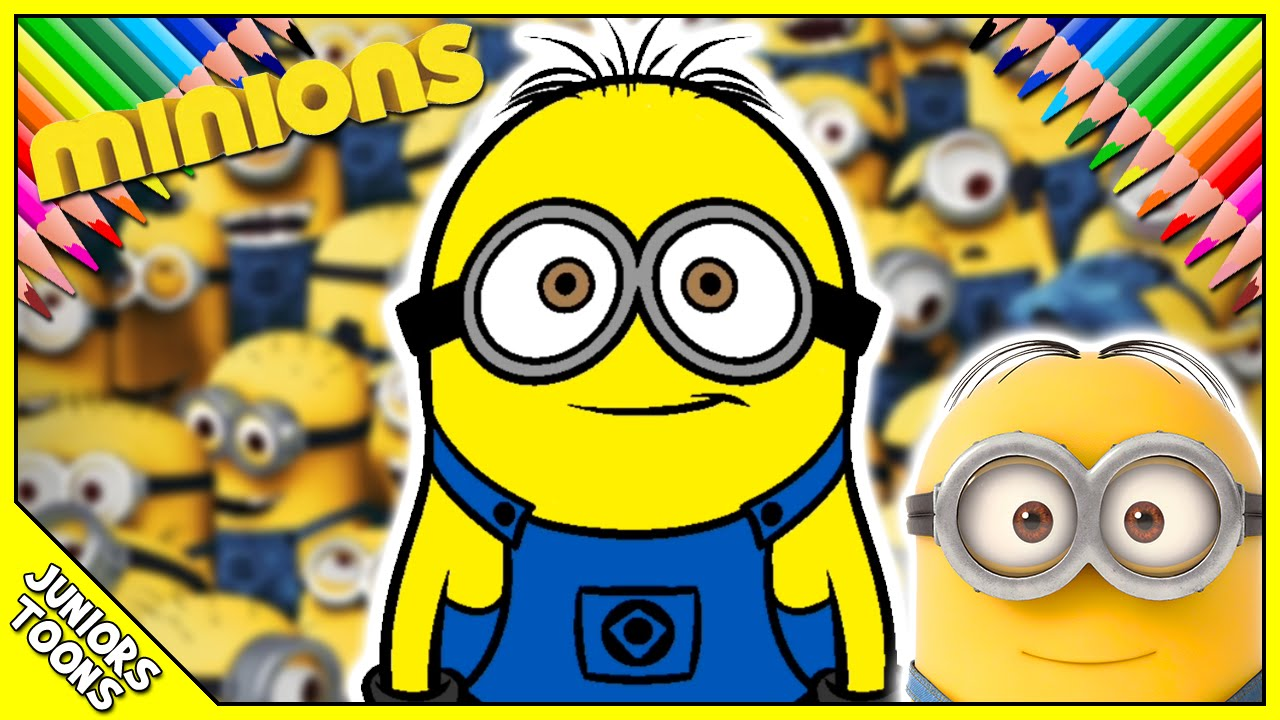 Lets Color The Minion From The Movie Minions  YouTube