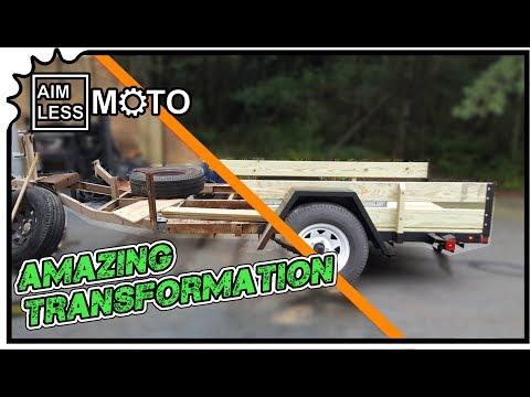 Homemade Trailer Restoration