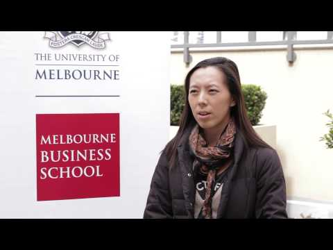 Why Melbourne Business School? Cuicui Jin