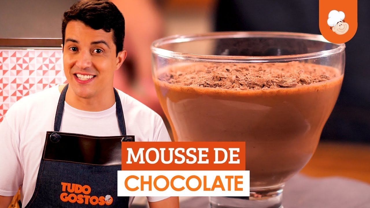 Mousse de chocolate — Receitas TudoGostoso