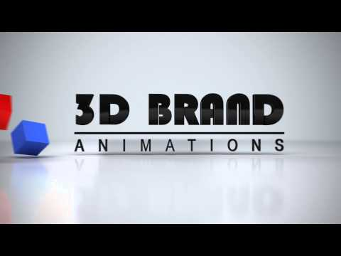 3D Brand Animations  - 3D Logo Animation Variation #1