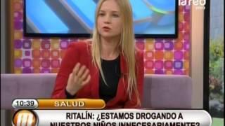 Psicóloga nos habla de las consecuencias del Ritalin