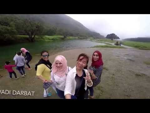 Salalah, Oman..  Driving green in the middle east