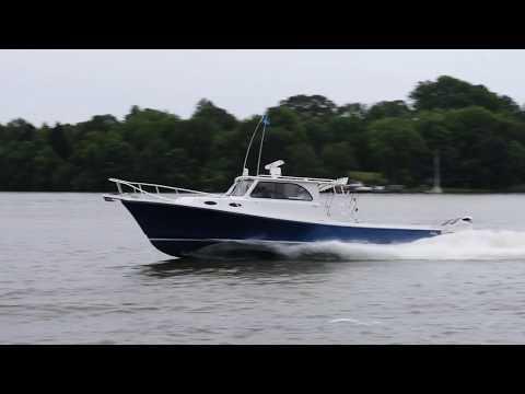Judge Yachts Chesapeake 36 Custom Fishing Boat with Twin Suzuki Outboards
