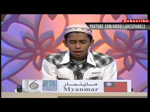 [HD] [myanmar and Guinea-Bissau ] 2012 Dubai International Quran Competition