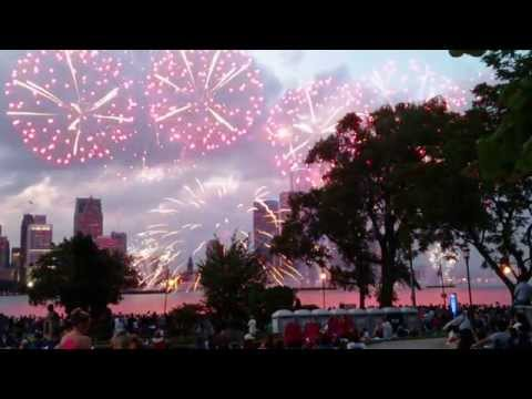 Windsor/Detroit Fireworks