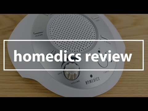 Homedics White Noise Machine Review