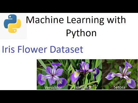 Iris Flower Dataset Part 1 Youtube