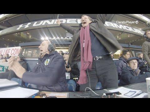 COMMS CAM | Barnes Opens Scoring v Spurs