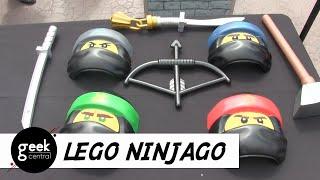 """NEW toys from """"The LEGO NINJAGO Movie"""""""
