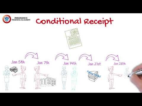 Conditional Receipt