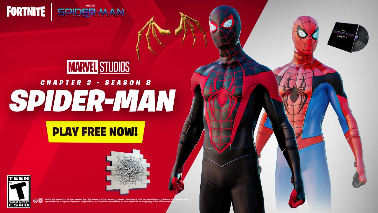 Fortnite Spiderman Trailer - YouTube