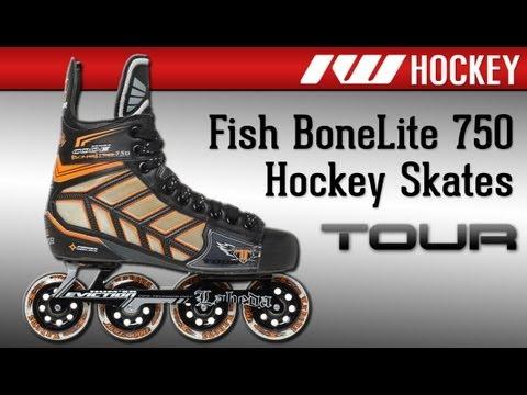 Tour Fish BoneLite 750 Roller Hockey Skate Review