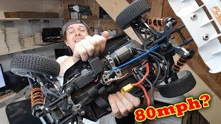 Hobao Hyper VS 7075 Race Chassis And 2200kv Hobbywing Max 8 Combo