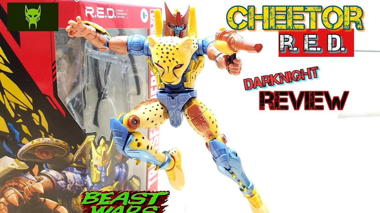 Transformers R.E.D figure Beast Wars Cheetor by DarkNight Reviews