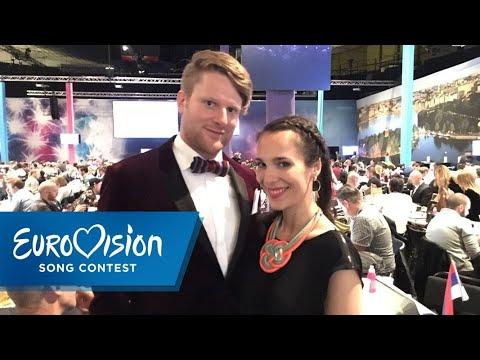 Alina und Stefan teilen besonders intime ESC-Momente | NDR